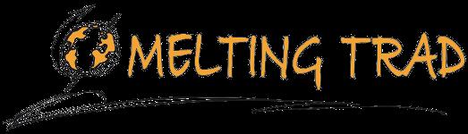 logo melting trad